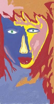 Feminine Fire Art Print by Mark Stidham