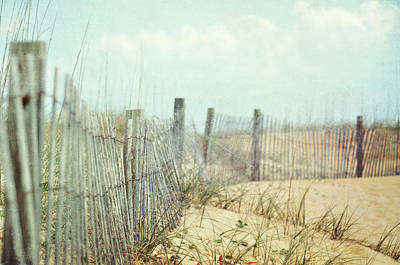 Protection Photograph - Fence by Dawn D. Hanna