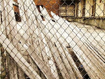 Photograph - Fence Down by Todd Sherlock