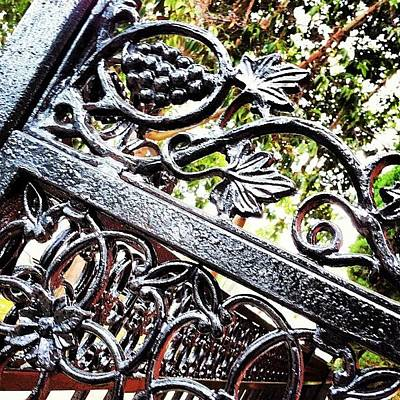 #fence #gate #decorative #ornamental Art Print