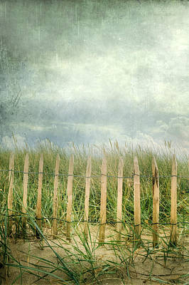 Fence Art Print by Joana Kruse