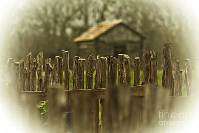 Photograph - Fence On The Farm by Kim Henderson