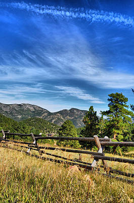 Photograph - Fenced by Emily Stauring