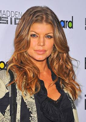Women In Music Photograph - Fergie At Arrivals For Billboards Fifth by Everett