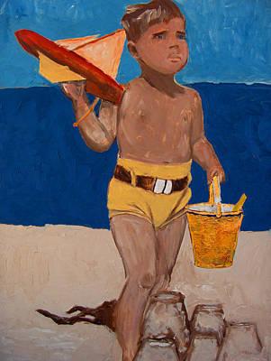 Fernando Art Print by Azul Fam