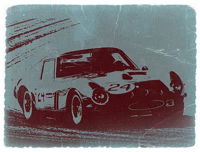 Old Car Photograph - Ferrari Gto by Naxart Studio