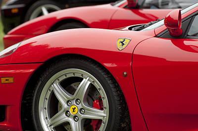 Ferraris 5 Art Print by Jill Reger
