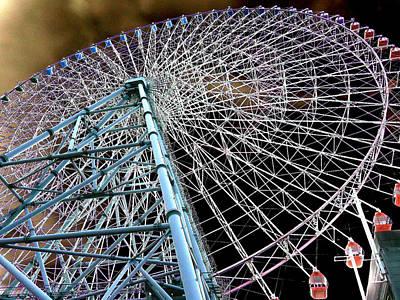 Photograph - Ferris Wheel by Allan Rothman