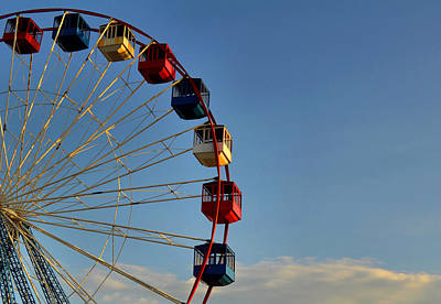 Photograph - Ferris Wheel by Brian Hughes