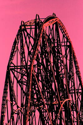 Photograph - Ferris Wheel Coney Island by Christopher Kirby