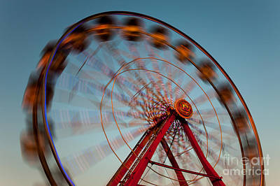 Photograph - Ferris Wheel Iv by Clarence Holmes