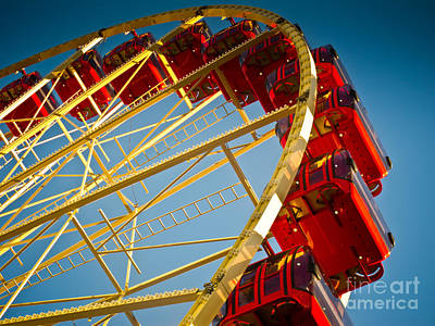 Sydney Photograph - Ferris Wheel by John Buxton