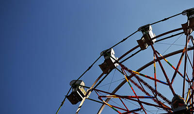 Photograph - Ferris Wheel by Matt Hanson