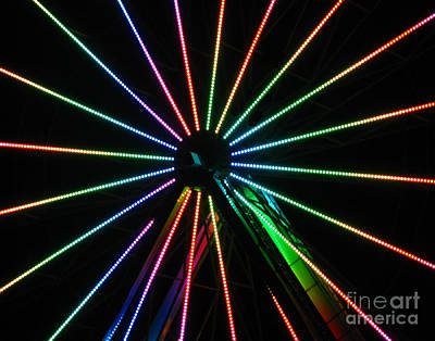Photograph - Ferris Wheel by Peter Piatt