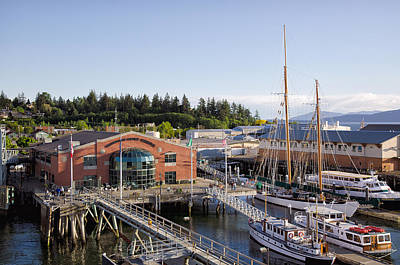 Photograph - Ferry Terminal - Bellingham by Gary Rose