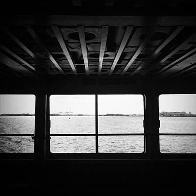 Ferry Window Art Print by Eli Maier