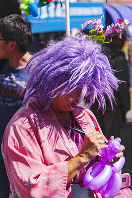 Photograph - Festival Clown by Anthony Citro