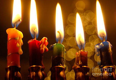 Art Print featuring the photograph Festival Of Lights by Linda Mesibov