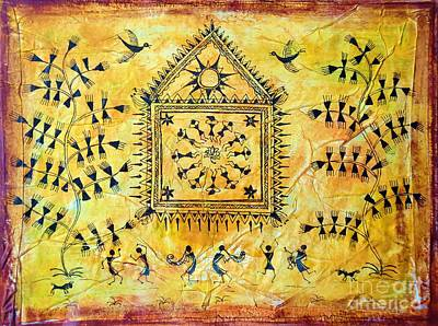 Painting - Festival Time by Anjali Vaidya