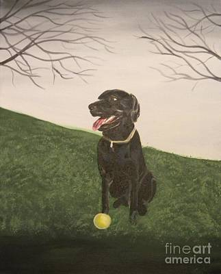 Painting - Fetch by Steven Dopka
