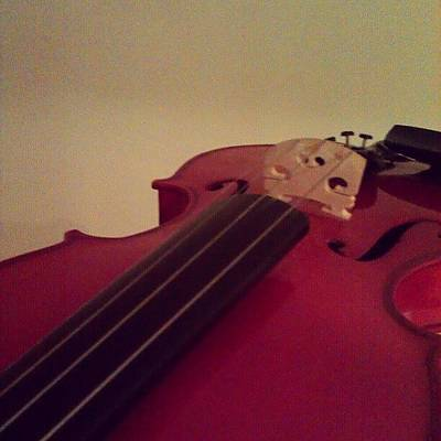Violin Wall Art - Photograph - #fiddle #trad #violin #music #instagood by Ciara Burke