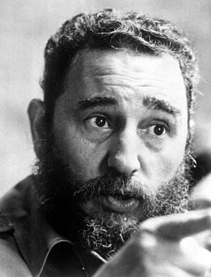 Fidel Castro, Circa 1977 Art Print by Everett
