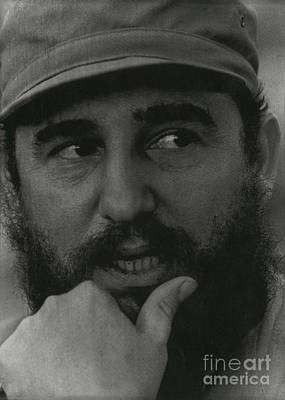 Fidel Castro, Cuban Revolutionary Art Print by Photo Researchers