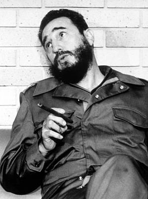 Fidel Castro, In 1974 Art Print by Everett