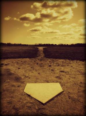 Homeplate Photograph - Field Of Dreams by Erika Hart