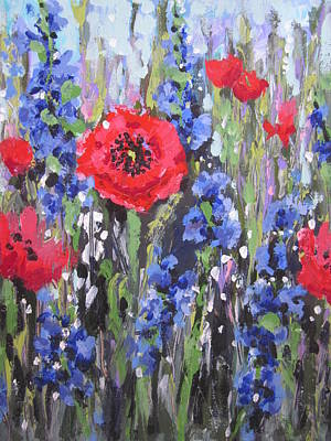 Painting - Field Of Dreams by Sandra Strohschein