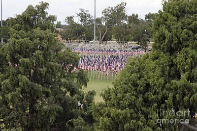 Photograph - Field Of Honor At Nmmi by Shawn Naranjo