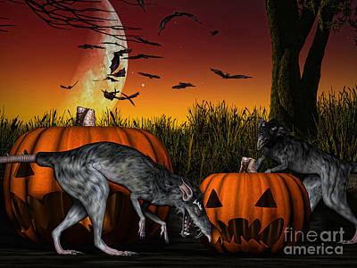 Spook Digital Art - Field Of Nightmares by Alexander Butler