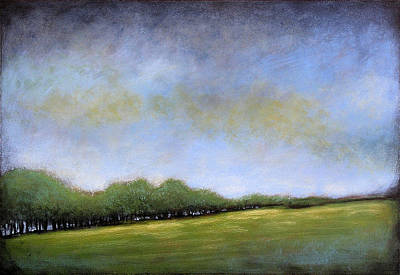Tonal Painting - Fields Of Green by Amy Giacomelli