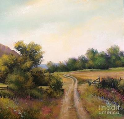 Wa Painting - Fields Road by Bonnie Zahn Griffith