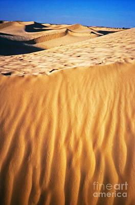 Photograph - Fiery Desert I by Silvia Ganora