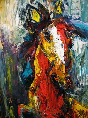 Kentucky Derby Painting - Fiery Horse by Jeff Hunter