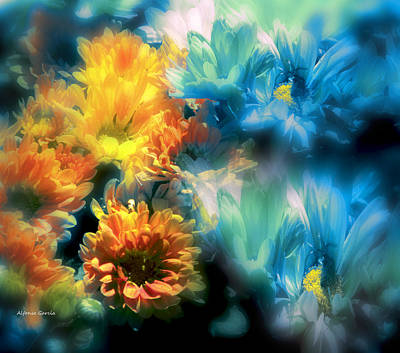 Art Print featuring the photograph Fiesta Floral by Alfonso Garcia