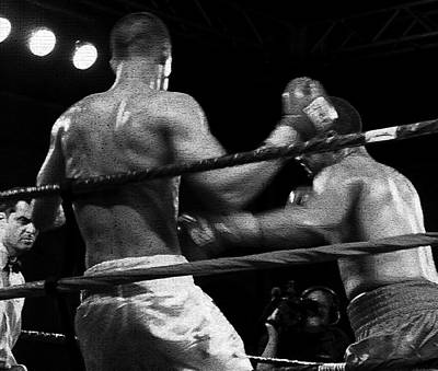 Prize Fighting Photograph - Fight Game by David Lee Thompson