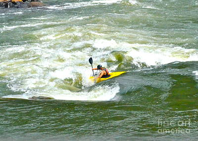 Photograph - Fighting The Ocoee by Carol  Bradley