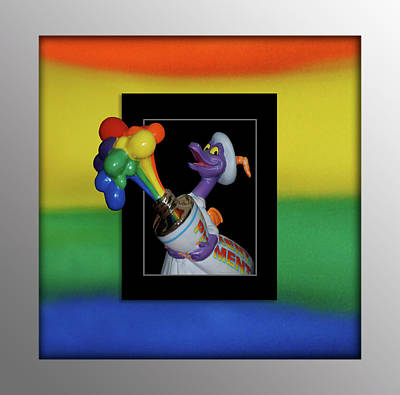 Figment Photograph - Figments Rainbow Of Colors by Thomas Woolworth