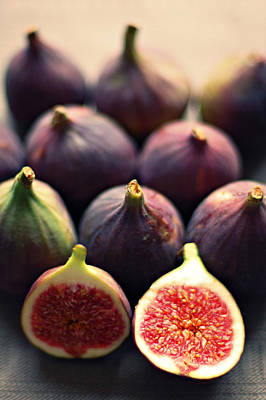Healthy Eating Photograph - Figs by Photo by Ira Heuvelman-Dobrolyubova