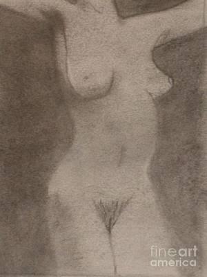 Drawing - Figure 1 by Samantha L