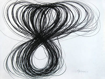Figure-eight Study Number Eight Art Print by Michael Morgan