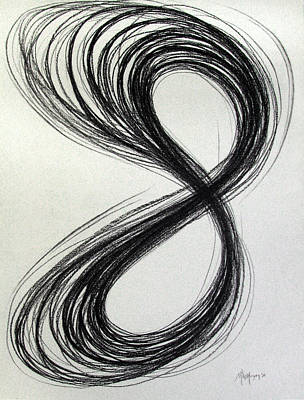 Figure Eight Study Number Eleven Art Print by Michael Morgan