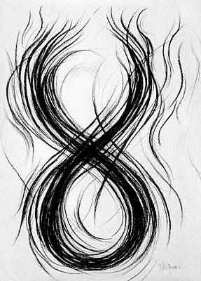 Figure-eight Study Number Nine Art Print by Michael Morgan