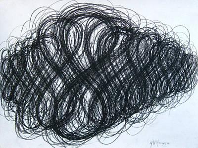 Figure Eight Study Number Ten Art Print by Michael Morgan