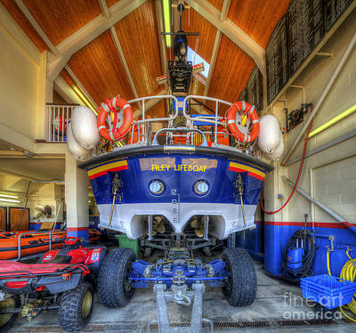 Photograph - Filey Lifeboat by Yhun Suarez