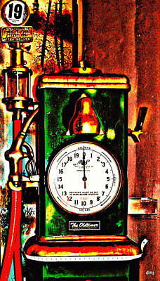 Photograph - Fill Er Up Please And Check The Oil by Diane montana Jansson