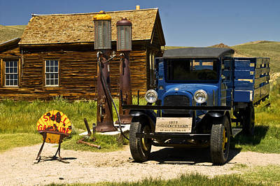 Photograph - Filler 'er Up-bodie by Gary Brandes