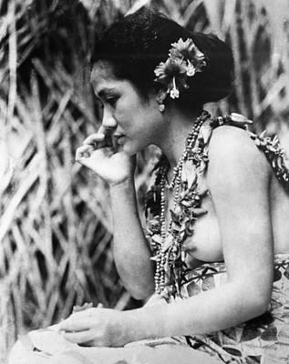 Photograph - Film: Moana, 1926 by Granger